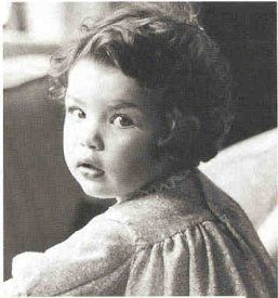 Julianna Margulies childhood photo one at Pinterest.com