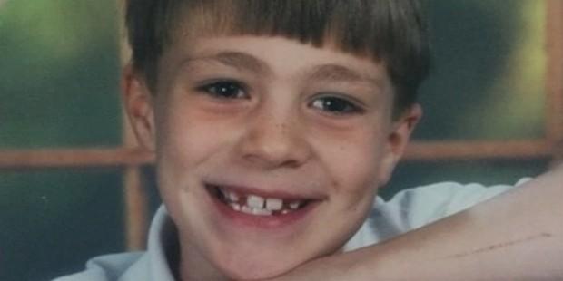 Colton Haynes, foto de infância um em successstory.com