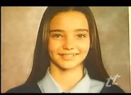 Miranda Kerr childhood photo one at Pinterest.com