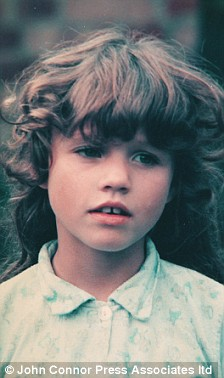 Katie Price childhood photo two at Uk.Pinterest.com