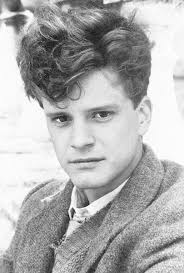 Colin Firth yearbook photo one at pinterest.com at pinterest.com