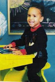 Chris Brown childhood photo two at Mjemagazine.com