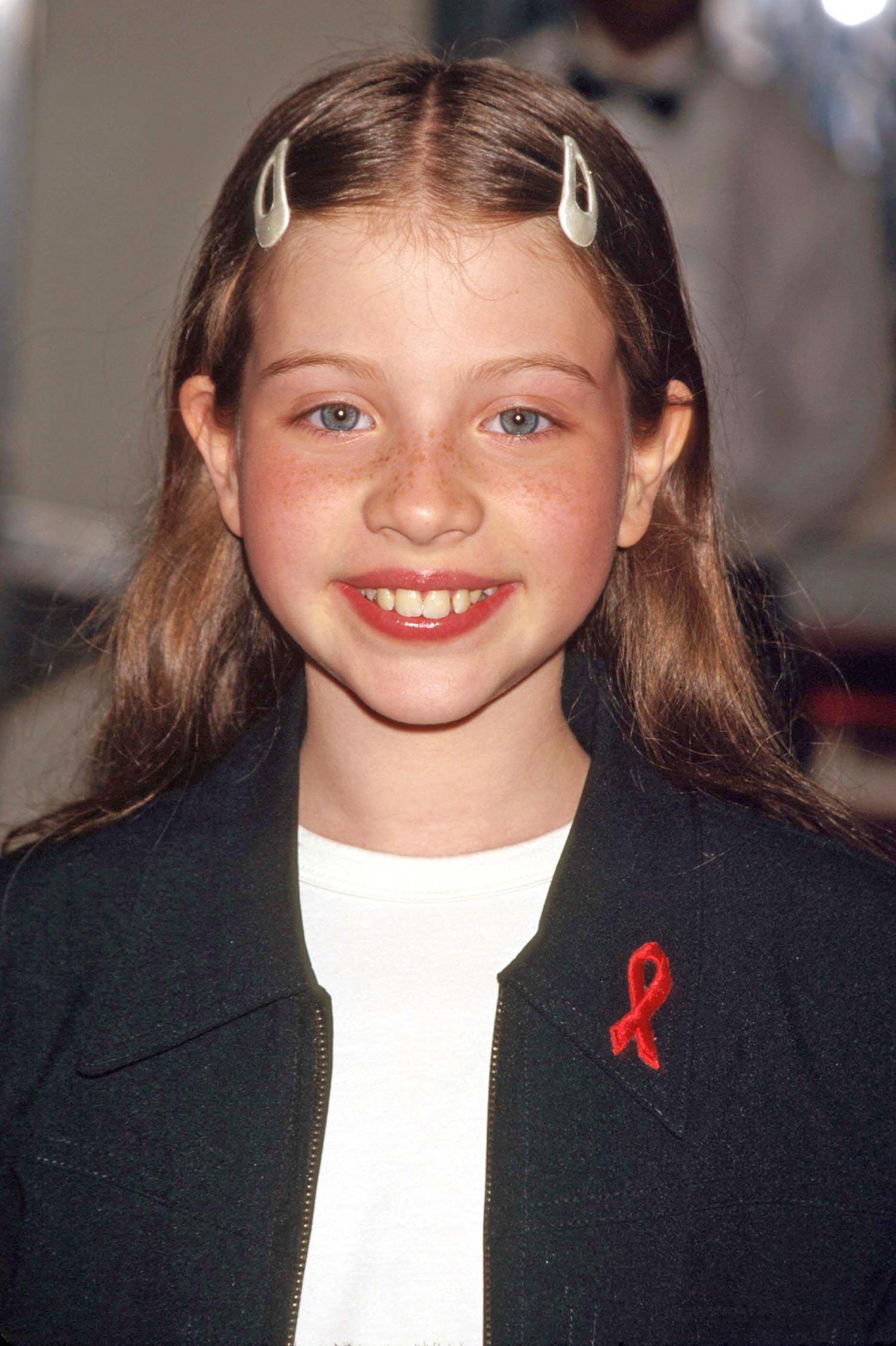Michelle Trachtenberg Kindheitsoto eins bei Pinterest.com