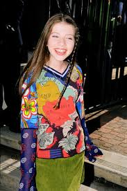 Michelle Trachtenberg childhood photo two at Cloudpix.com