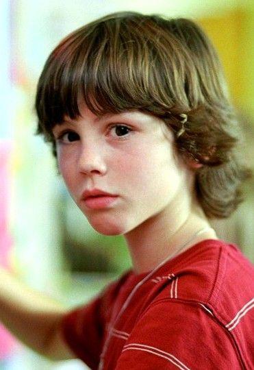 Logan Lerman childhood photo one at Pinterest.com