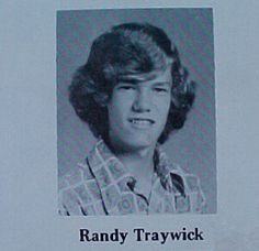Randy Travis yearbook photo one at Pinterest.com at Pinterest.com