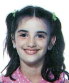 Penelope Cruz childhood photo one at Pinterest.com