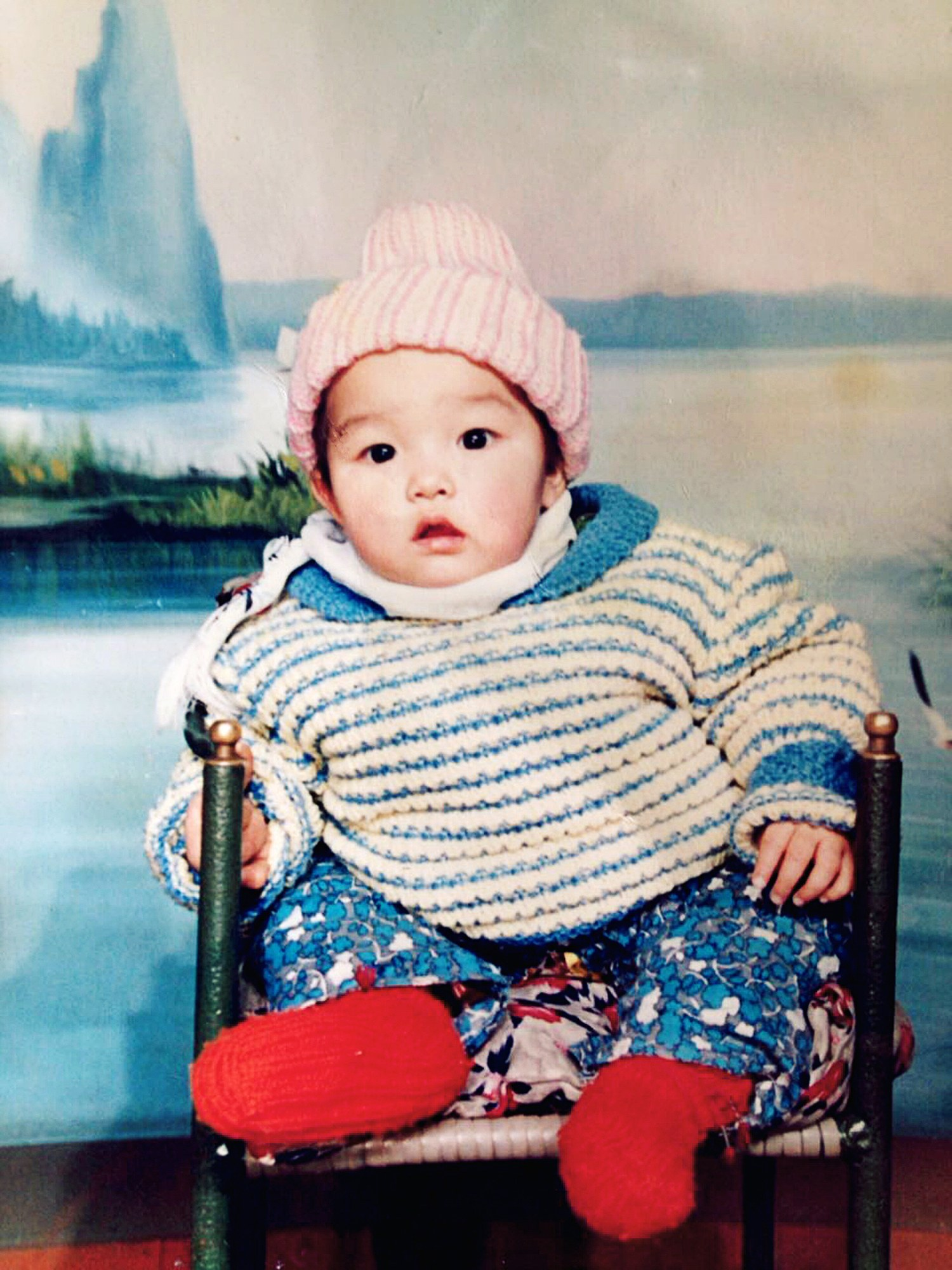 Fei Fei Sun childhood photo two at Vogue.com