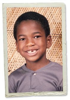 Ne Yo childhood photo one at Pinterest.com