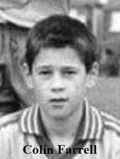 Colin Farrel yearbook photo one at pinterest.com at pinterest.com