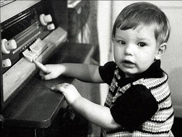 Alberto Aquilani, foto de infância um em 90min.com