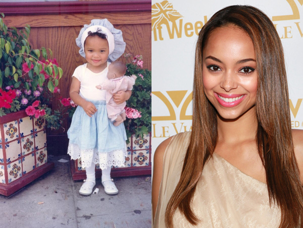 Amber Stevens, foto de infancia uno en pinterest.com