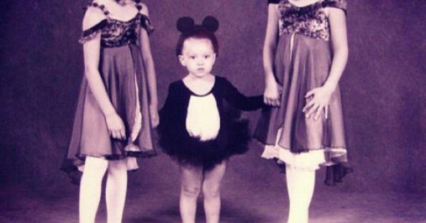 Sarah Jeffery, foto de infância um em pinterest.com