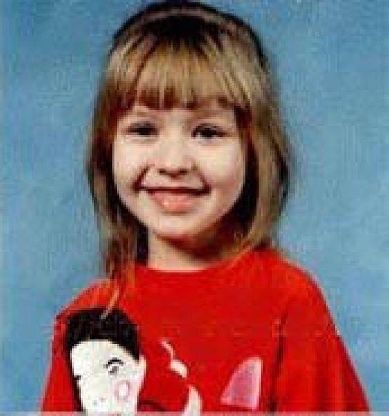 Christina Aguilera childhood photo two at pinterest.com