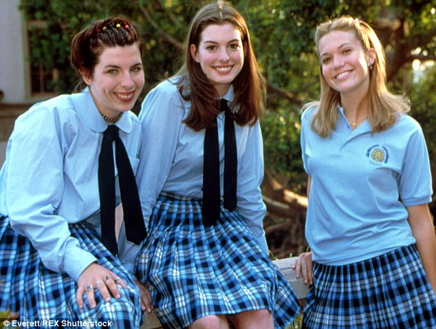 Mandy Moore first movie:  The Princess Diaries