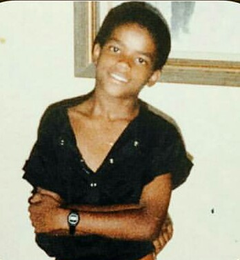 Larenz Tate childhood photo two at Pinterest.com