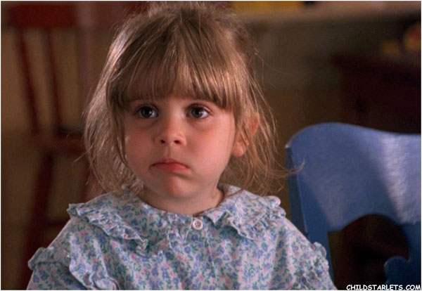 Mae Whitman kindertijd foto een via childstarlets.com