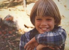 Matt Damon childhood photo one at Pinterest.com