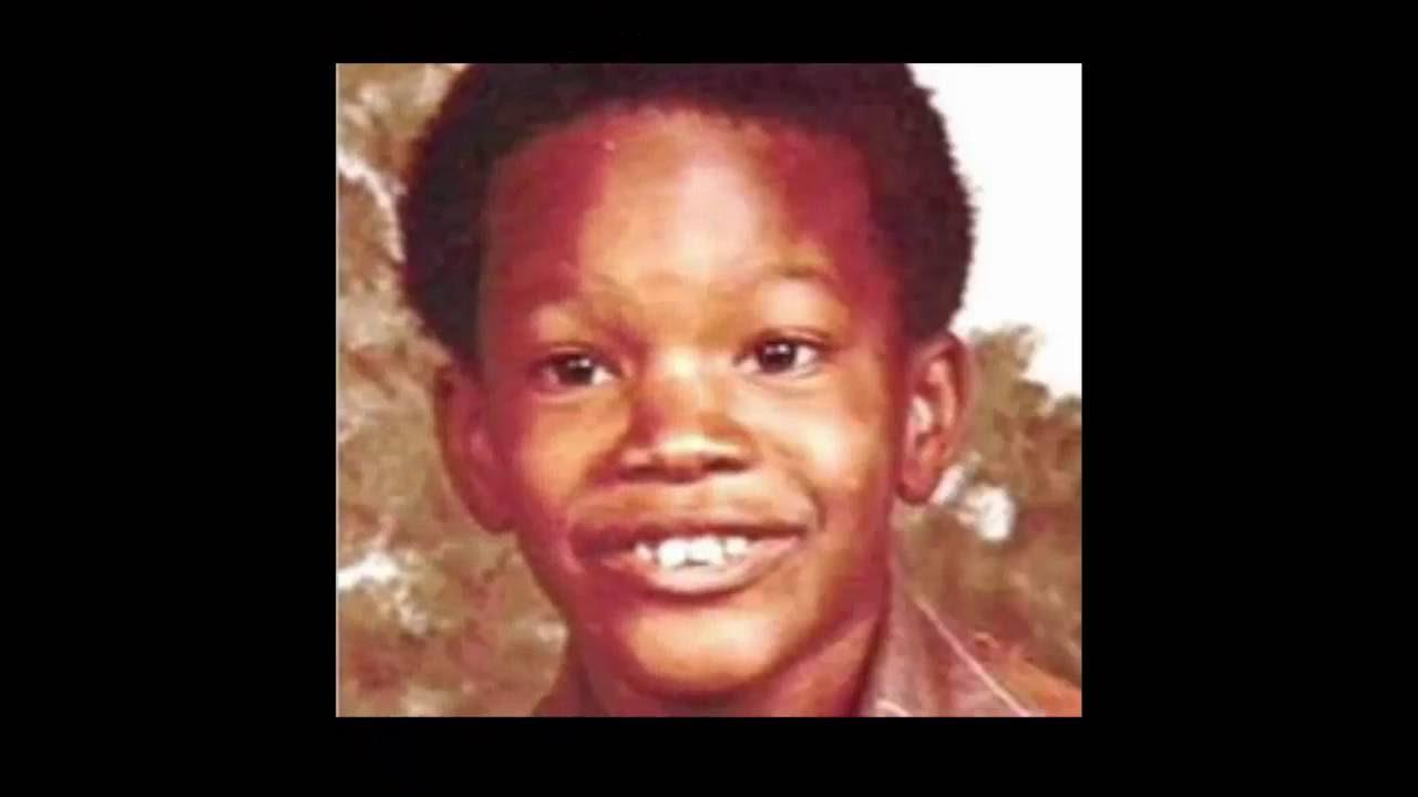 Jamie Foxx, foto de infância um em Youtube.com