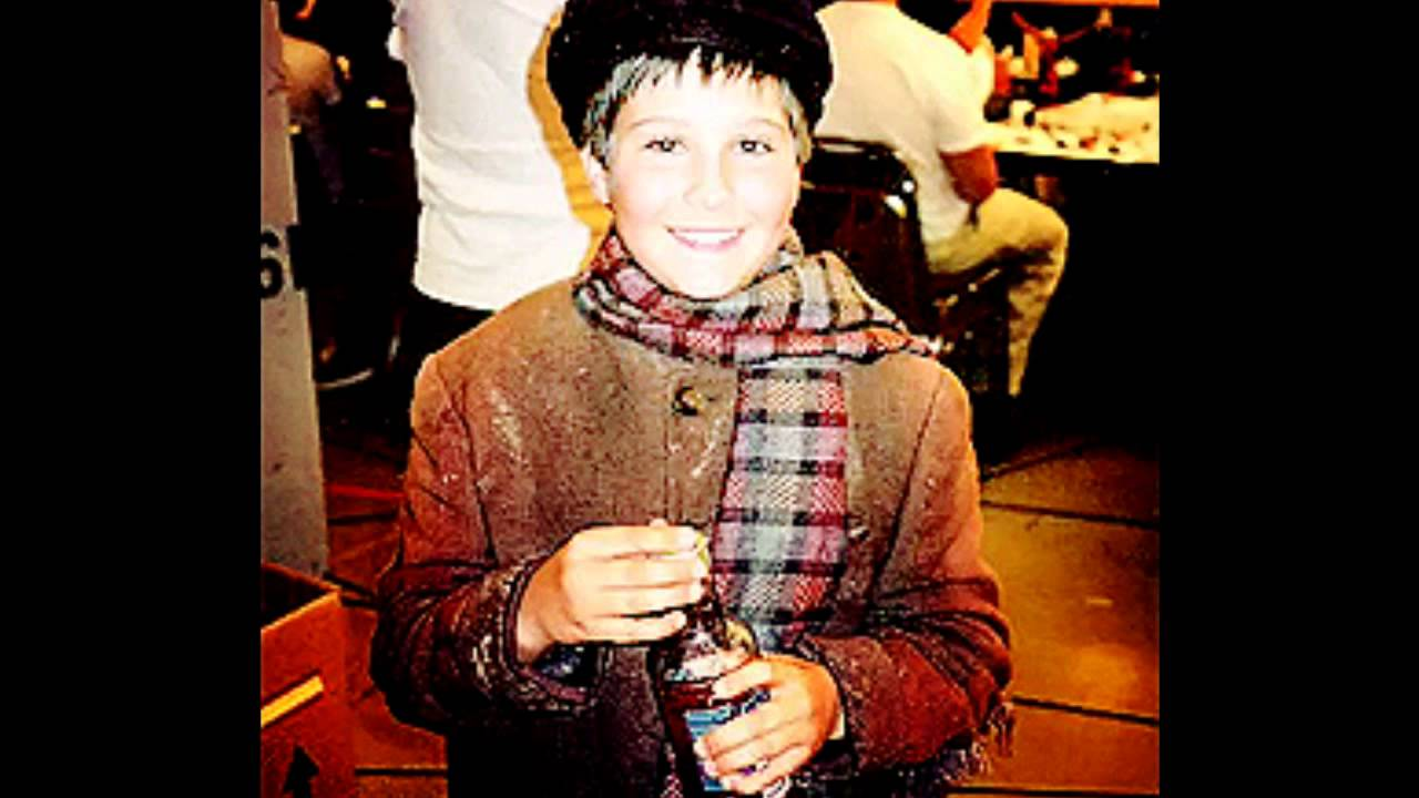 James Maslow kindertijd foto twee via Youtube.com