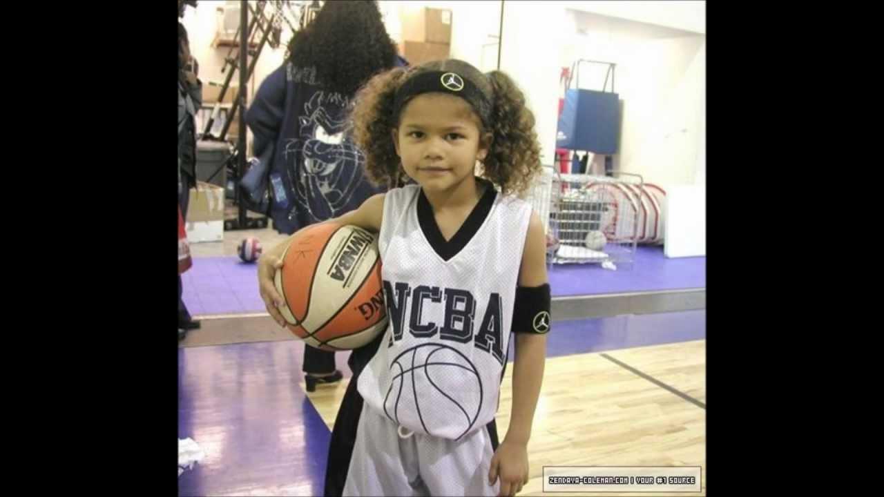 Zendaya childhood photo one at Youtube.com