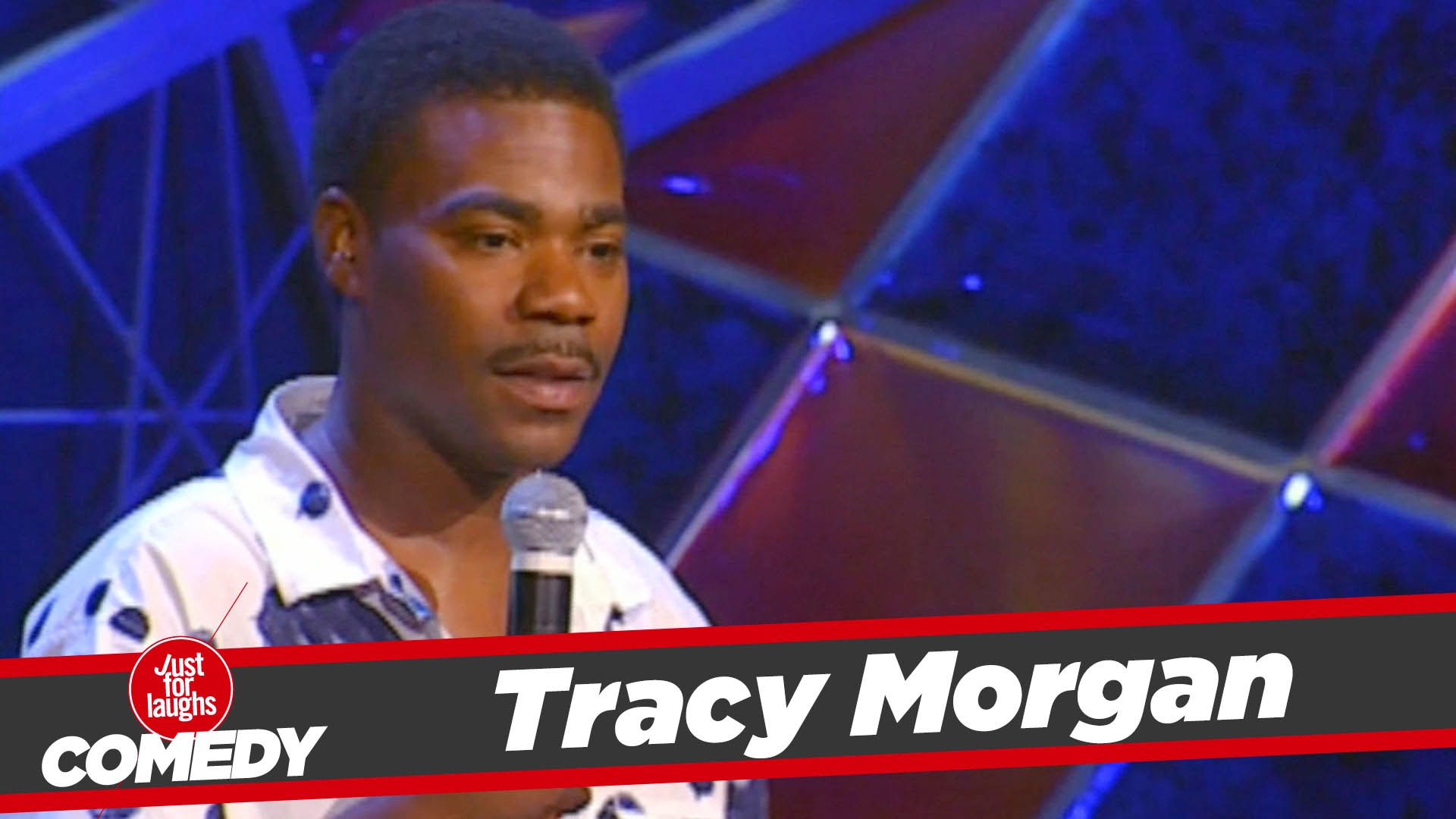 Tracy Morgan younger photo one at Just For Laughs