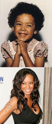 Melanie Brown childhood photo two at celebritybabyphotos.blogspot.ro