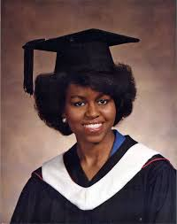 Michelle Obama yearbook photo two at Nytimes.com at Nytimes.com