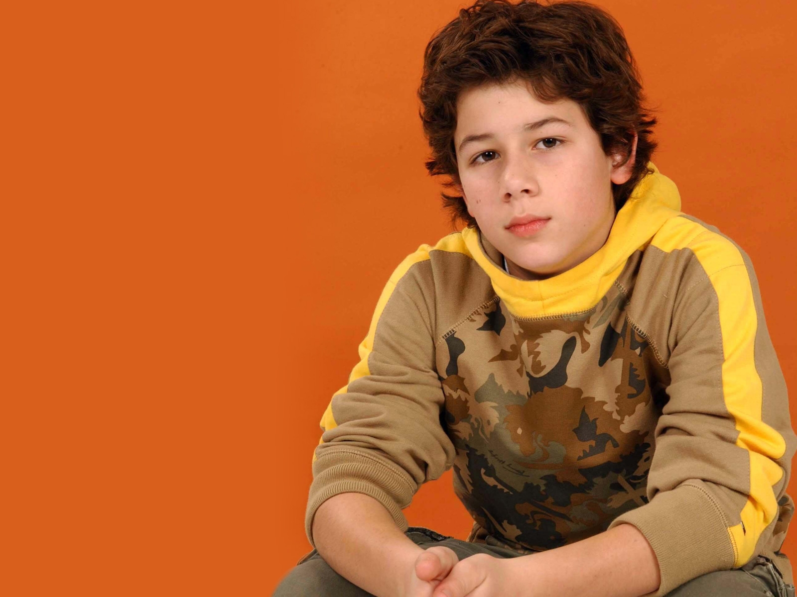 Nick Jonas childhood photo one at Wallpaperscraft.com