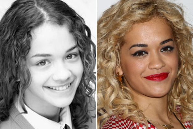 Rita Ora yearbook photo one at Popcrush.com at Popcrush.com