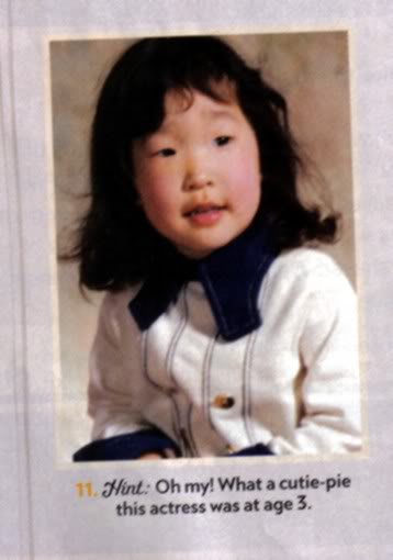 Sandra Oh childhood photo one at fanforum.com