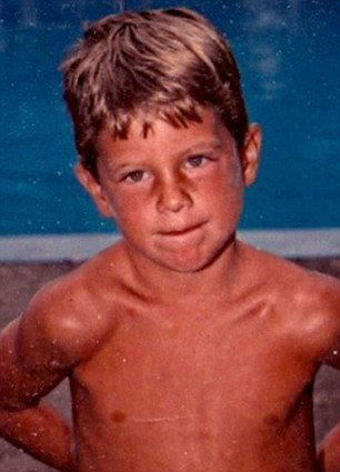Conor Dwyer childhood photo one at Dailymail.co.uk