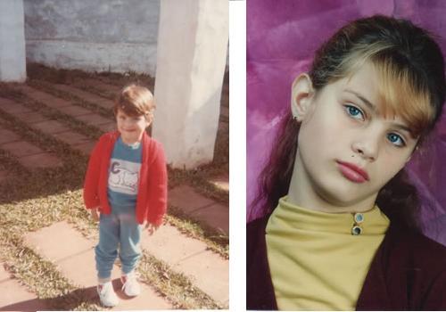 Isabeli Fontana childhood photo two at bellazon.com