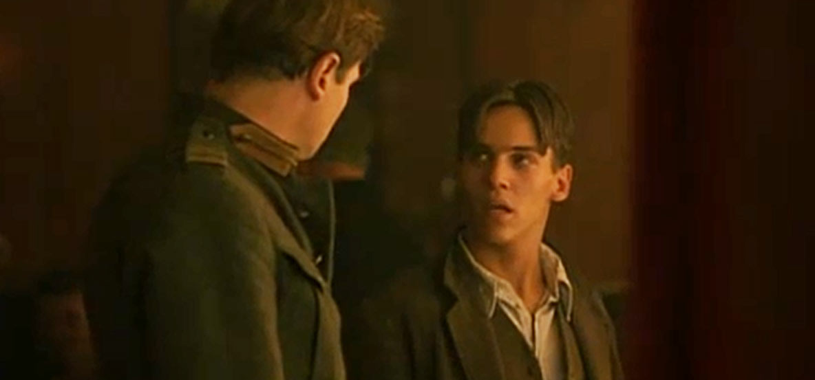 Jonathan Rhys Meyers first movie:  Michael Collins
