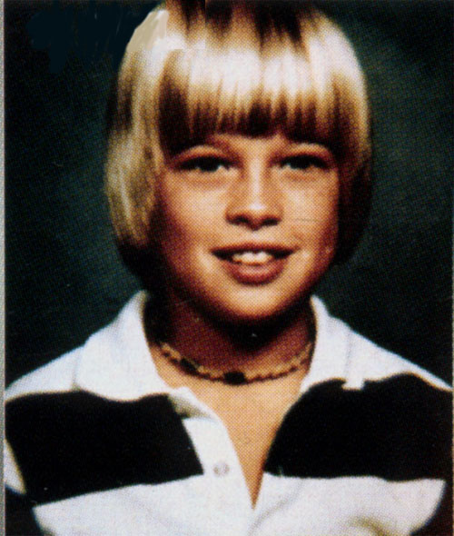 Brad Pitt childhood photo three at gstatic.com