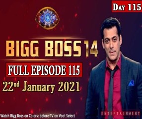 Bigg Boss 14 Full Episode 115