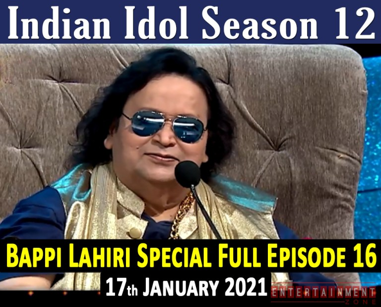 Indian Idol 12 Full Episode 16
