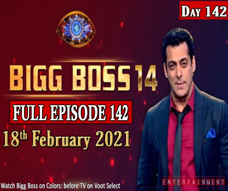 Bigg Boss 14 Full Episode 142
