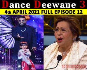 Dance Deewane Season 3 4th April 2021