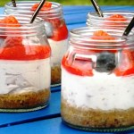 Mixed Berry Potted Cheesecake