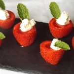Vodka Jelly Filled Strawberries