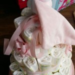 Nappy Cake - French Patisserie Themed Baby Shower