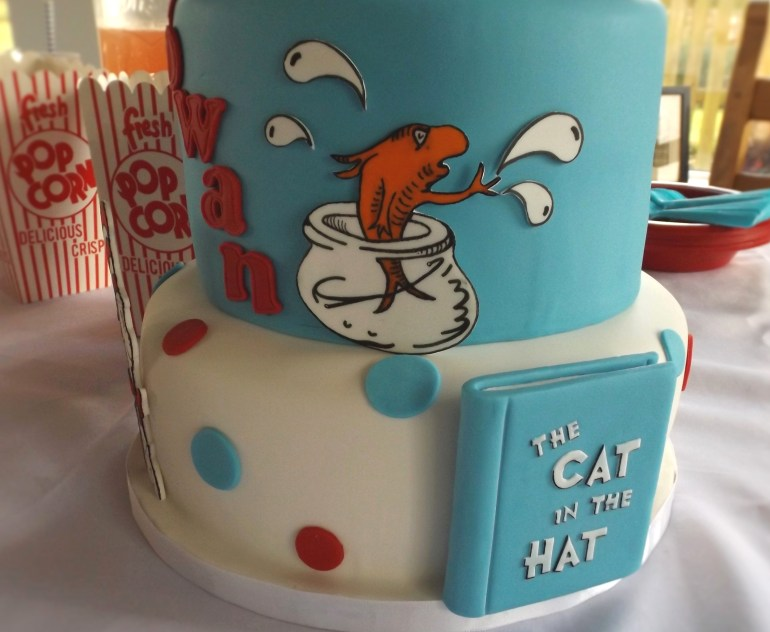 Dr. Seuss Themed First Birthday Party