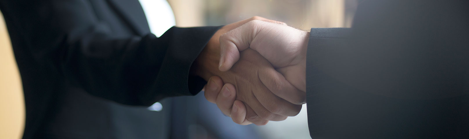 Doctors shaking hands as a congratulations