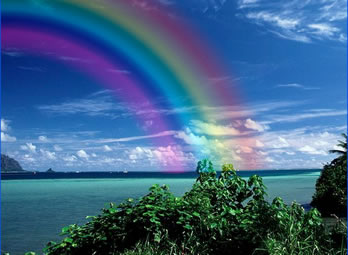Somewhere, over the rainbow....