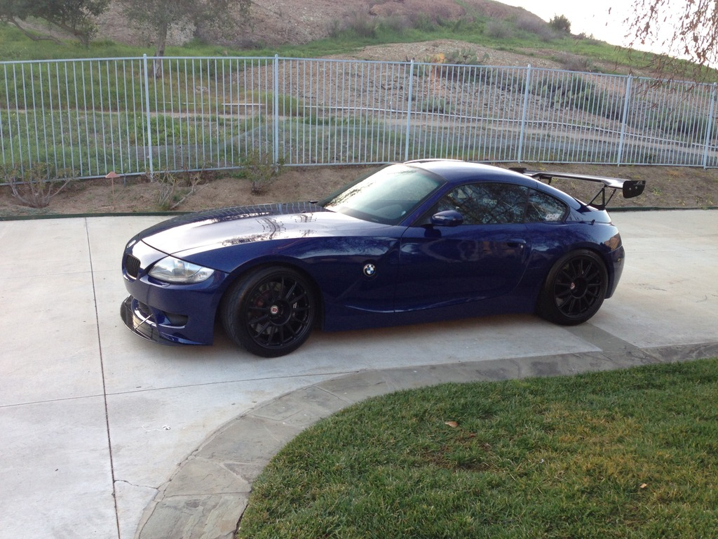 Coupe Series bmw z4 m coupe for sale Z4M Track Car - Interlagos Blue - For SaleEnthusiast Owned