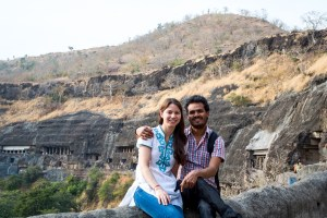 mindah and rajnee ajanta caves