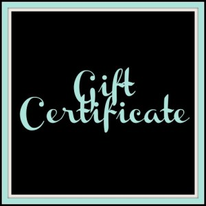 Entice Me Gift Certificate