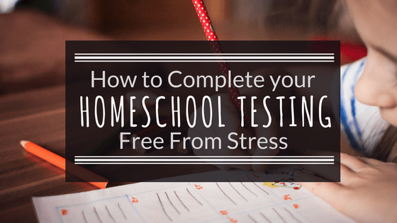 Is it testing time for your Homeschool? Click for a free Printable Homeschool testing planner and tips for stress-free Homeschool Testing!