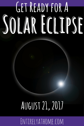 Solar Eclipse day (August 21st, 2017) is almost here. Are you ready? Click for a few ideas to enjoy the solar eclipse with your family!